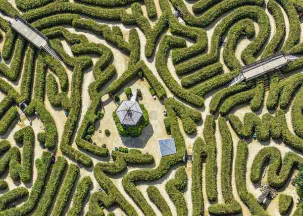 Labyrinth drielandenpunt